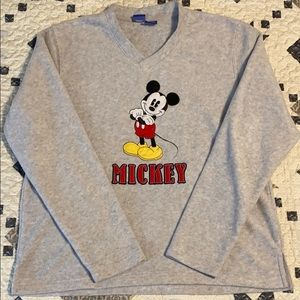 Disney Mickey Mouse Long Sleeve Sweater - Sz L
